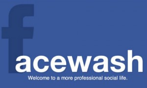 FaceWash Web App Released to Clean Up Facebook Profiles