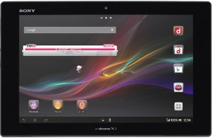 Sony Xperia Tablet Z SO-03E soon by NTT Docomo