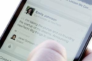 LinkedIn spruces up mobile app to widen appeal
