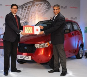 Vodafone India to Enable Connectivity in Mahindra Reva's e2o