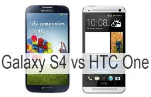 HTC One Vs Samsung Galaxy S4 Comparison