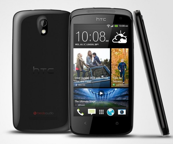 HTC unveils affordable quad-core Desire 500