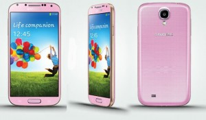 The UK will be getting Pink Galaxy S4 in January