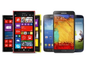 Galaxy Note 3 vs Nokia Lumia 1520