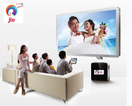 Reliance JIO to offer 4G LIVE TV Service, Set Top Box Developed on Google's Android Platform
