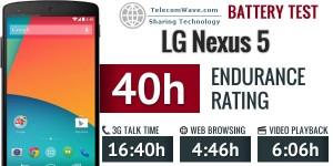 LG Nexus 5 Battery review