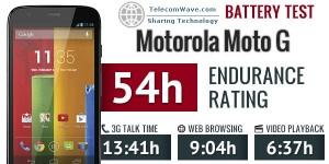 Motorola Moto G Battery Life