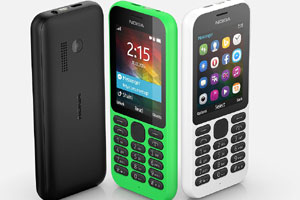 Nokia 215 announced, may cost less than Rs.2,000 in India