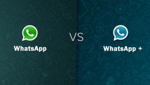 WhatsApp vs WhatsApp Plus
