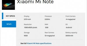 Xiaomi Mi Note Goes Out of Stock Within 3 Minutes in First Sale: Report