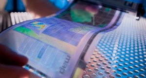 Flexible and Paper-Thin Displays With LE-OFETs Technology