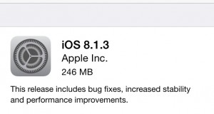 iOS 8.1.3 Update Reduces Amount of Free Space Required for OTA Update