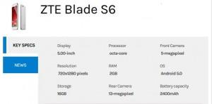 zte-blade-s6-Specs