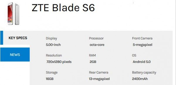 zte-blade-s6-with-android-5-specs