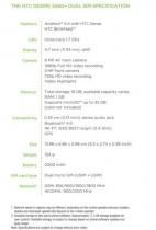 HTC Desire 526G+ Specs