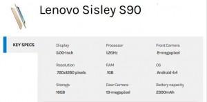 lenovo-s90-Specs