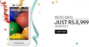 Motorola Slashes Moto E India Price
