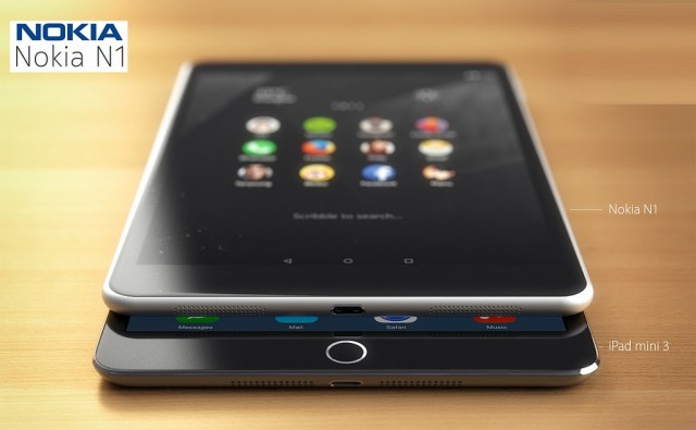 Nokia N1 vs ipad 3